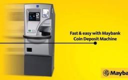 Mesin Deposit Duit Syiling Dari Maybank