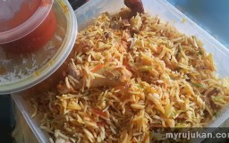 Beli dan Bungkus Nasi Arab Chicken Madghout