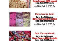 Pemborong Baju Kurung Siap Untuk Penjual Baju Kurung