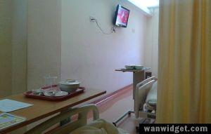 KPJ Penang Specialist Hospital Patient Room