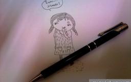 My Sketch According to Kak EmilaYusuf Cartoon