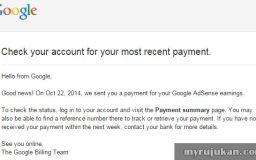 Notifikasi Google Adsense Earning Melalui Gmail