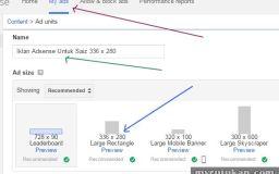 Cara Buat Iklan Google Adsense