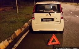 Attenuator Perodua Viva Rosak