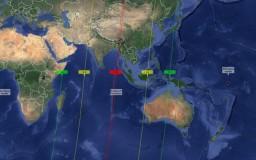 negara negara yang boleh melihat kejadian gerhana bulan April 2015