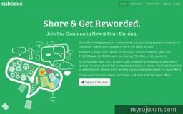 Laman website untuk mempromosikan ebook Malaysia