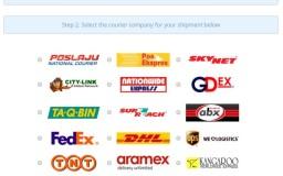 semak delivery parcel online dengan ExpressTrack