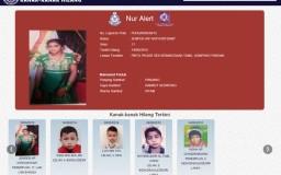laman portal polis kanak kanak hilang Malaysia