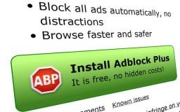 Teknik block popup iklan guna Adblock Plus