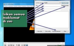 cara download subtitle pantas dengan vlc media player