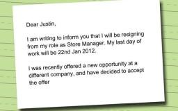 contoh surat notis berhenti kerja bagi swasta