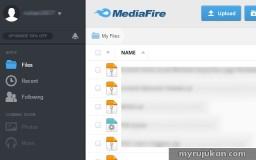 menyimpan fail dokumen secara online di Mediafire