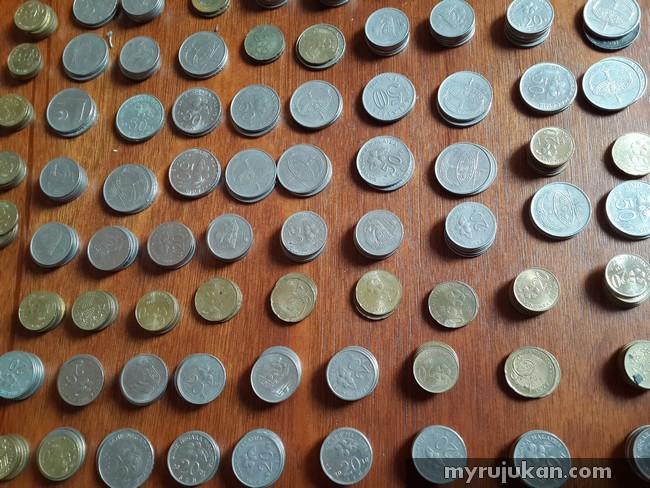 tips menabung duit syiling dengan mudah
