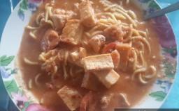 hasil masakan dari resepi mee bandung johor