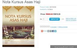 order buku kursus asas haji