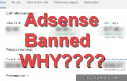 Kenapa akaun Google Adsense ditolak
