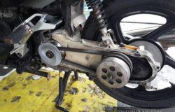 Masalah timing belt Yahama Nouvo S
