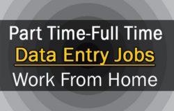 kerja data entry part time dari rumah