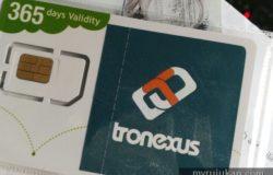 Cara beli dan dapatkan simkad Tronexus