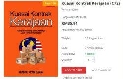 Beli dan dapatkan buku kuasai kontrak tender perolehan kerajaan secara online