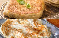 Gambar roti canai dan murtabak (Gambar Hiasan)