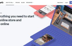 Kedai online store dengan Shopify