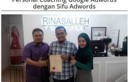 Kelas Personal Coaching Google Adwords Di Malaysia