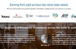 Peluang jana income di internet melalui program survey panelpace