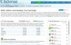 Peluang jana income online melalui program pengiklanan Clixsense