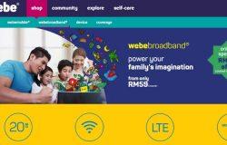 Pakej internet murah dari Webe broadband