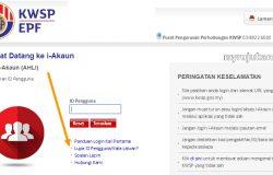 Pilih lupa id pengguna kata laluan untuk mengaktifkan balik akaun online i-Akaun kwsp