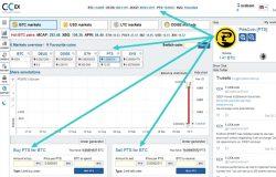 Beli PitisCoin krypto di website exchange c-cex