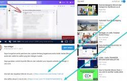 Gambar sebenar link affiliate di masukkan ke description video YouTube (buat duit di YouTube)