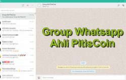 Group Whatsapp PitisCoin Kodinar Berhad