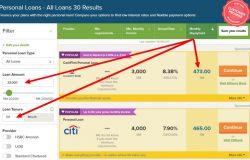 Menyelesaikan hutang dengan membuat banding personal loan yang terbaik