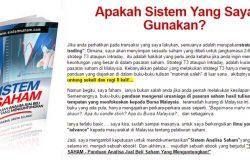 Buat duit dengan saham Malaysia