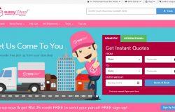 Check parcel pelbagai company mudah dengan EasyParcel