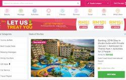 Contoh laman dealsite Malaysia seperti Fave yang buat duit dengan coupon