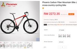 Harga basikal Phoenix termurah yang dijual di Malaysia