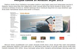 Jana income online dengan ebook kindle