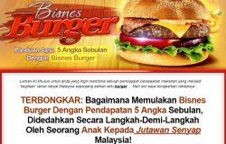 Panduan lengkap memulakan bisnes perniagaan burger