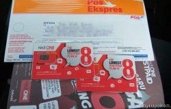 Saya beli dan langgan simkad postpaid RedOne