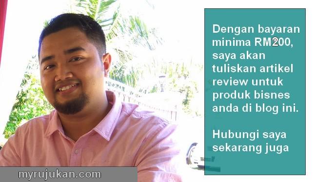 Servis perkhidmatan produk review di blog website
