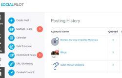 Software servis auto posting artikel mudah dengan sosial pilot