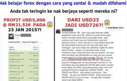 Testimoni sebenar newbie orang baru berjaya belajar forex Malaysia