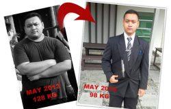 Berjaya menjadi kurus dalam beberapa bulan
