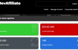 Gunakan sistem affiliate dari iDevAffiliate jika anda ingin jual produk digital