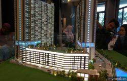 Model sebenar reka bentuk rumah prima permatang pauh Pulau Pinang