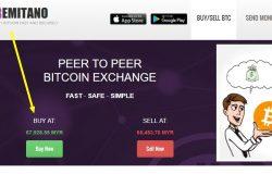 Sila klik button BUY NOW untuk mula membeli Bitcoin di Remitano