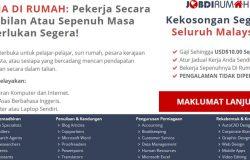 Direktori portal mencari online job Malaysia